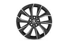 "Original SKODA FABIA III aloy wheel ITALIA 7.0J x 16"" 6V0071496 FL8"