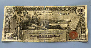 1896 $1 Educational Note Silver Certificate