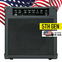 EMB 300W RMS Electric Guitar Amplifier Speaker Powerful Cabinet w/ AUX - 5TH GEN