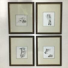4x Framed Original Prints Of Dogs By Cecil Aldin Trowbridge Gallery #320