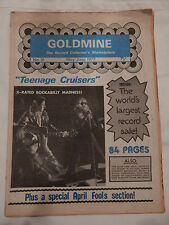 """MAY-JUNE 1977 GOLDMINE THE RECORD COLLECTOR'S MAGAZINE """"TEENAGE CRUISERS"""""""