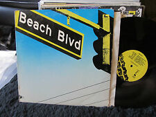 Beach Blvd Lp 1979 Posh Boy Original L.A. Punk Simpletones Rik L Rik kbd rodneyb