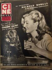 CINEMA CINE REVUE N° 50 de 1953 M. MORGAN CALVET TERRY MOORE CLARK GABLE NOHAIN