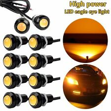 10pcs 9W LED Eagle Eye Light Yellow Daytime Running DRL Tail Car Auto Lamp 12V