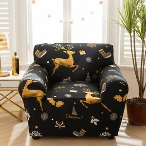 Armchair Elastic Sofa Cover Stretch Slipcover for Living Room Couch Cover Decor