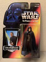 Star Wars Power Of The Force Jedi Knight Luke Skywalker Brown Vest Figure 1996