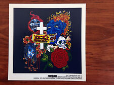 OZZY OSBOURNE - ROSE - STICKER/DECAL - BRAND NEW VINTAGE - MUSIC BAND 064