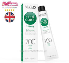 Revlon Professional Nutri Color Creme 700 Green 100ml TUBE 3 in 1 Colour