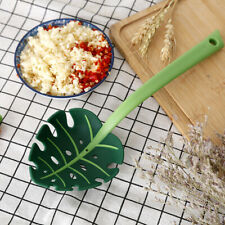 Noodle Spoon Turtle Leaf Spoon Leaves Colander Kitchen Cooking Jungle Spoon