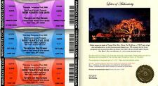 Tavern On The Green Farewell Party Ticket Set of 3 09