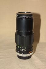 MINOLTA MC TELE ROKKOR-PE 200mm 1:4.5 LENS MD MOUNT  EXCELLENT 5594