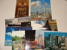 Shanghai China Folder 10 Postcards NEW