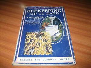 BEEKEEPING UP TO DATE BY A B FLOWER BEE BEES BEEKEEPER 1942