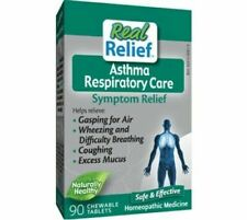 Homeolab Real Relief Asthma Respiratory Care 90 Chewable Tablets