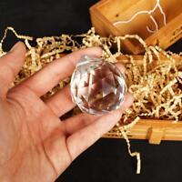 50 mm FENG SHUI HANGING CRYSTAL BALL Sphere Prism Rainbow Suncatcher Pend