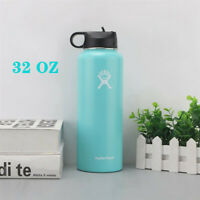 Hydro Flask Stainless Steel Water Bottle Vacuum Insulation Flask 32oz - Mint