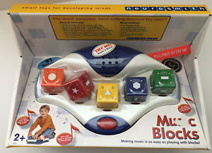 Neurosmith MUSIC BLOCKS Educational Award Winning Musical Learning Toy - NEW!