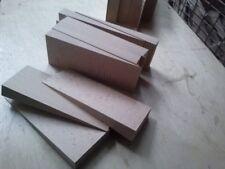 10 große Hartholzkeile 200x50x50 Buche