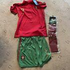 kids portugal football kit with Socks