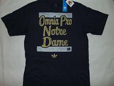ADIDAS Notre Dame Fighting Irish Football OMNIA PRO T-Shirt L Large NCAA NWT NEW