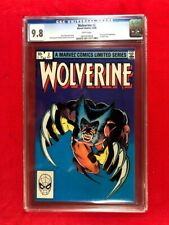 Marvel Wolverine #2 Limited Series Classic Frank Miller Cover CGC 9.8 WP 1982