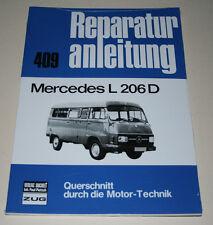 Reparaturanleitung Mercedes L 206 / 306 D Diesel + Hanomag F 20 / 25 / 30 / 35