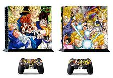 Dragon Ball 272 Vinly Skin Sticker Sony PS4 PlayStation 4 and 2 controller skins