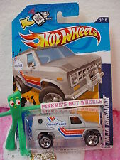 2012 Hot Wheels BAJA BREAKER Van #143 Scan∞Kmart Q Excl MATTE SILVER∞GoodYear