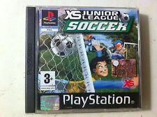 cd per playstation - gioco xs juonior league soccer