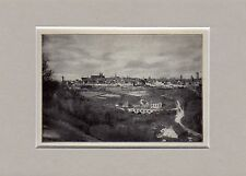 Antique matted print Rothenburg ob der Tauber Ansbach  Mittelfranken 1932