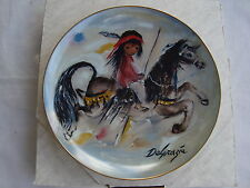 "DeGrazia Collector Plate Merry Indian 10.25"" Num 2729 Limited Edition NIB"