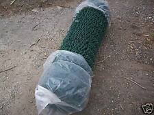 2.4 m green chainlink mesh garden fencing Sold by metre