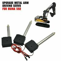 Upgrade Durable Metal Arm Driving Servo Accessory for Huina1550 RC Excavator #US
