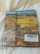 Amazon Kindle Oasis Harvest Painted Scene Case-New in plastic