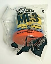 2017 McDonald's Despicable Me 3 Happy Meal Toy #11 Hilarious Hockey Minions NIP