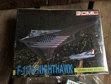 "DML F-117A Nighthawk ""STARS AND STRIPES"" 1:144 Scale Model Kit Airplane Plane"