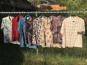 Vintage 70/'s mens casual shirt sz:Large
