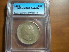 1926 American Sesquicentennial Commemorative Half Dollar ICG Certified MS 60
