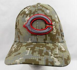 Under Armour Chicago Bears Baseball Digital Camo Pattern Cap Hat Adult Med
