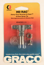 Graco GHD611 Heavy Duty Reverse-A-Clean Airless SwitchTip