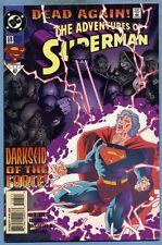 Adventures of Superman #518 1994 Dead Again Darkseid Appearance Karl Kesel DC
