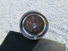 1958 Edsel Dashboard Clock 12V Borg Brown Face