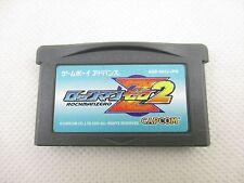 Game Boy Advance Nintendo ROCKMAN ZERO 2 megaman Video Game GBA Cartridge gbac