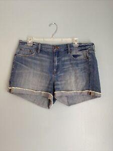 J Crew Womens Denim Shorts Cutoff Size 31 NWT MSRP $59
