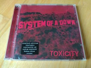 System Of A Down Toxicity LIMITED 2 CD
