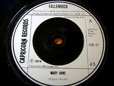 "Fallenrock-Mary Anne 7"" in vinile"