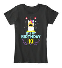 Easy-care Its My 10th Birthday Funny Pug Dog Lovers Women's Premium Tee T-Shirt