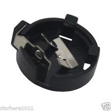 20 x CR1220 1220 3V Cell Coin Battery Socket Holder Case 1-1# Black