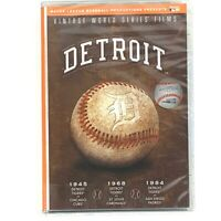 Vintage World Series Films: Detroit Tigers (DVD, 2007) NEW