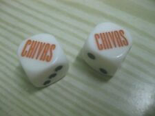 New CHIVAS Dice x 2
